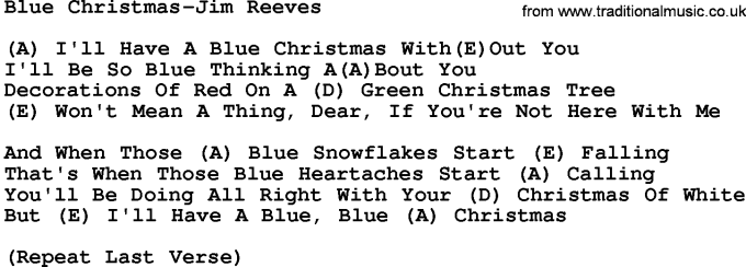 Blue Christmas Ukulele Chords Pdf Christmaswalls