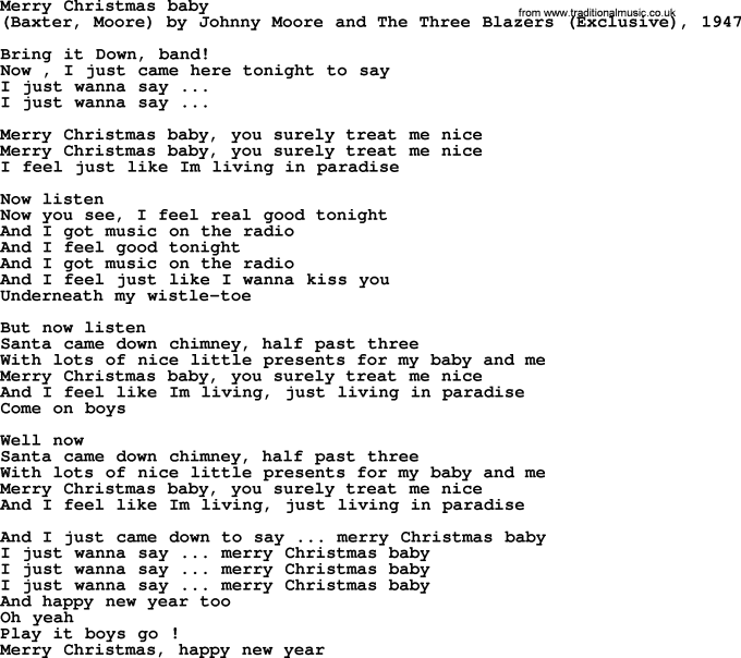 Guitar Chords Merry Christmas Baby Bruce Springsteen Christmaswalls