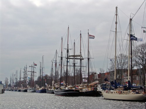Tijdens de Race of the Classics