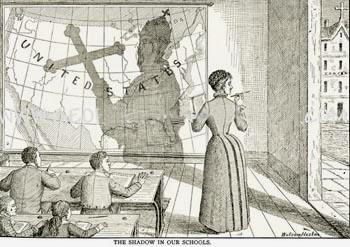 Anti-Catholic cartoon