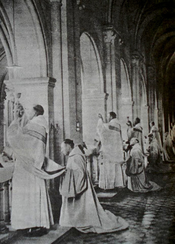 side altar Masses