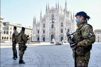 Milan police