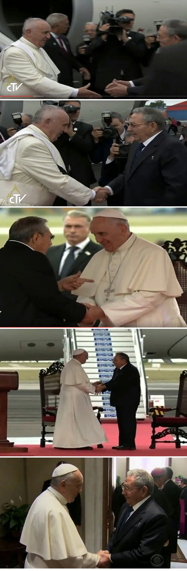 Francis visita a Cuba 02