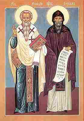 Image result for Sts. Cyril, Monk and Methodius