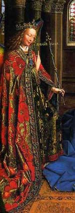 The Annunciation, by Van Eyck