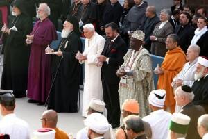 Entre la fe reunión en Asís - 2010