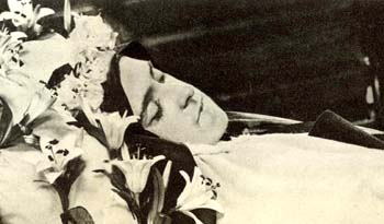 St Therese Death