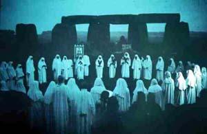 Druid ceremony