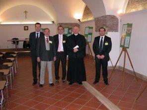 Incontro con il precedente Abate di San Paolo f.l.m. di Roma Edmund Power 21/04/2007