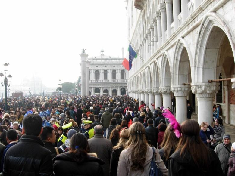venice carnival - st. marks square