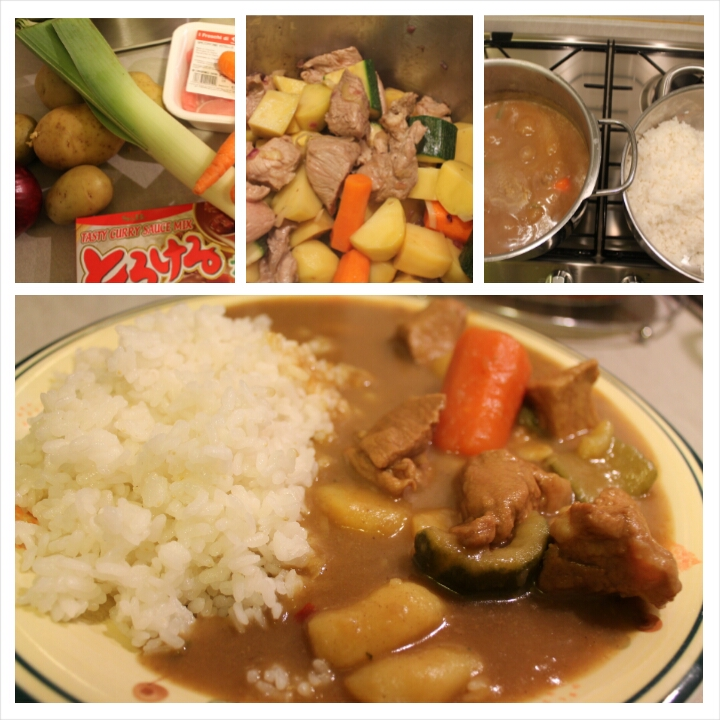 Curry rice giapponese [カレーライス]: la ricetta