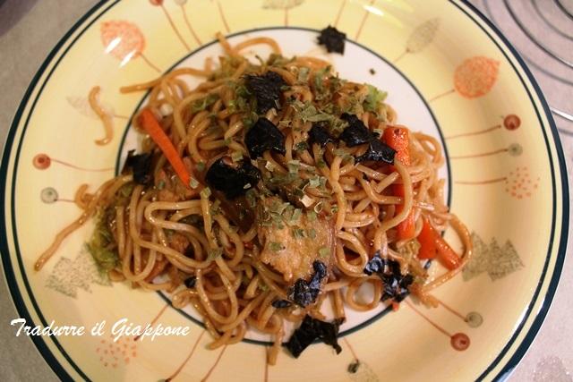 Yakisoba: la ricetta