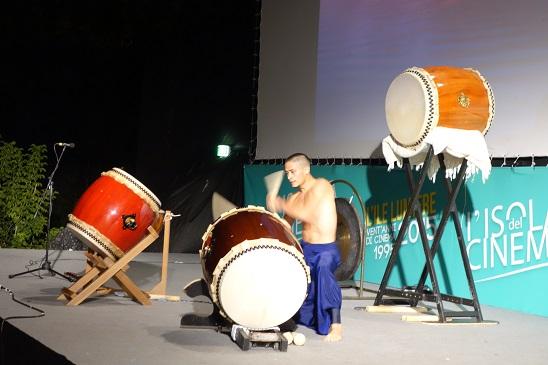 La bellissima performance di Mugen Yahiro. Foto tratta dal sito dell'Ambasciata del Giappone