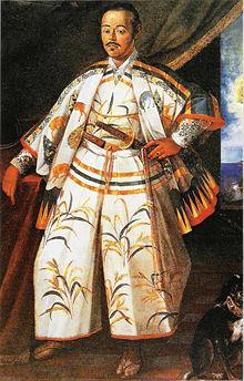 Ritratto di Hasekura ritratto durante la sua missione a Roma nel 1615 Collezione Borghese, Roma. Immagine tratta da wikipedia.