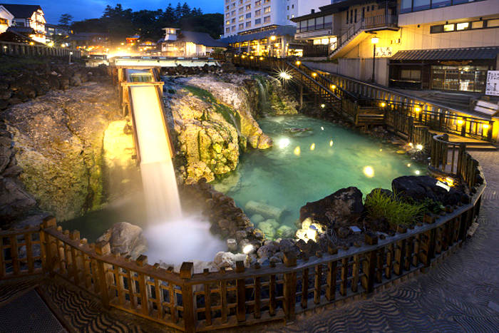 Kusatsu Onsen (Photo by: JTB/UIG via Getty Images)