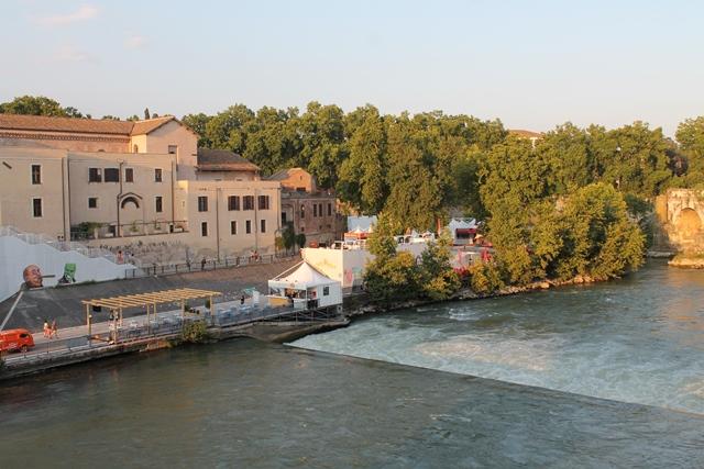 L'isola del Cinema, all'Isola Tiberina - Roma