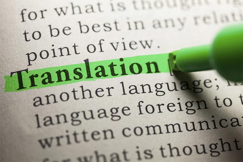 Risultati immagini per traduzione