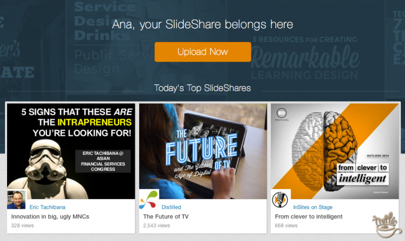 slideshare top presentation of the day section
