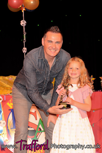 Under 7's girl of the season and winner of the Lola Grace Commons award