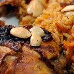 Kabsa saudí, pollo con arroz árabe