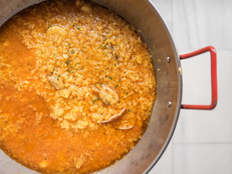arroz-con-puerros-y-almejas-taberna-de-castellana-madrid