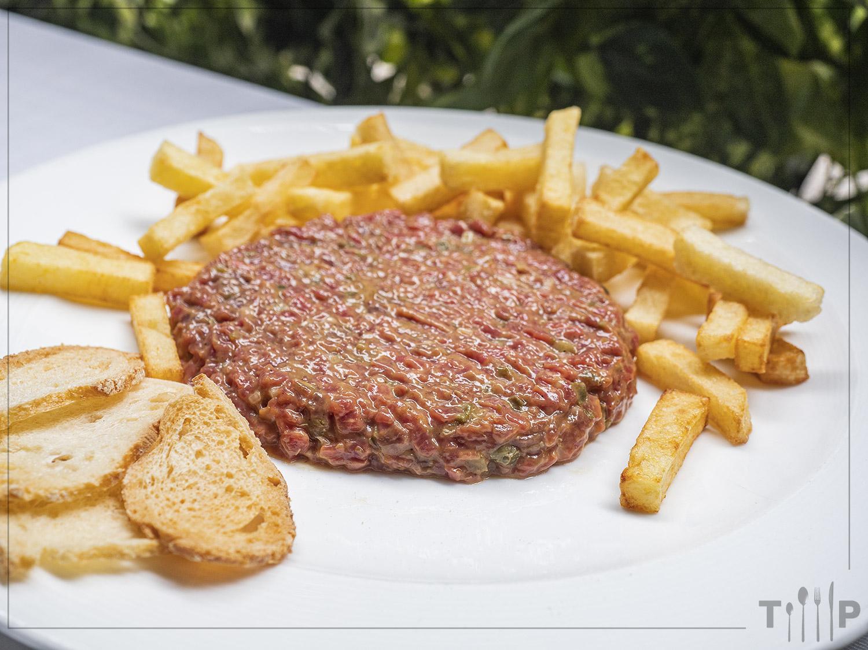 Steak tartare Restaurante Álbora Madrid