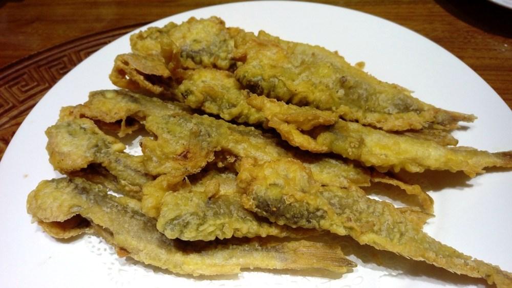 Pescado frito