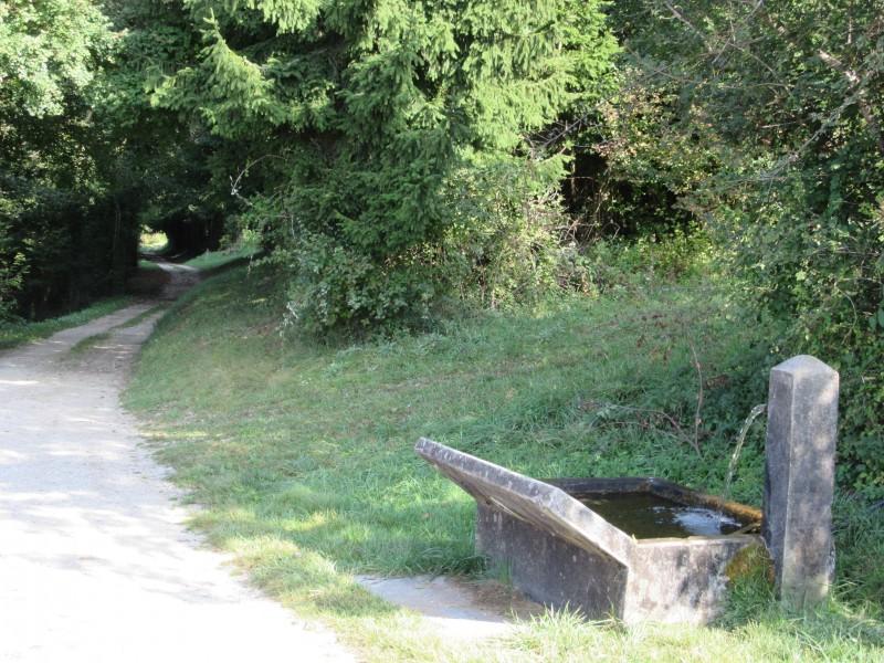 La fontaine de Clarafond