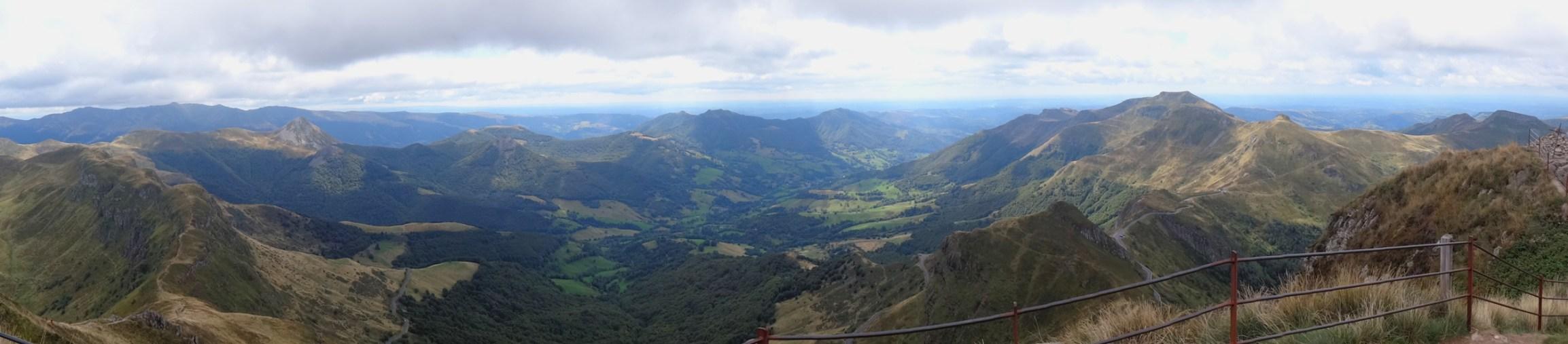 Magnifique panorama à 360° depuis le sommet