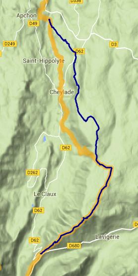 Trail des 7 Burons 2015 - 2016 comparatif