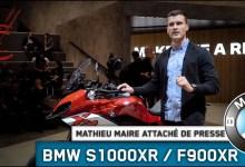 Photo of Vidéo nouvelle BMW S1000 XR et BMW F900 XR