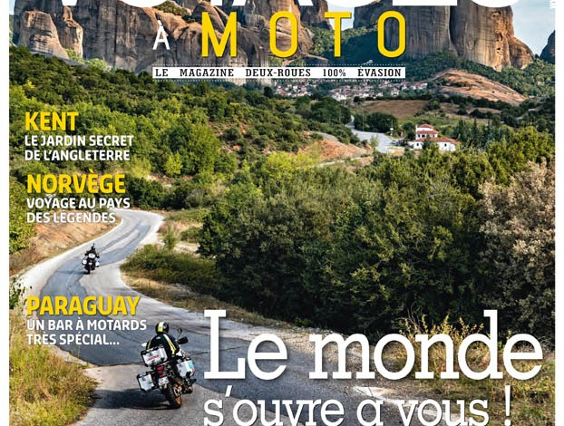 Photo of Voyages à Moto N°6 en kiosque !