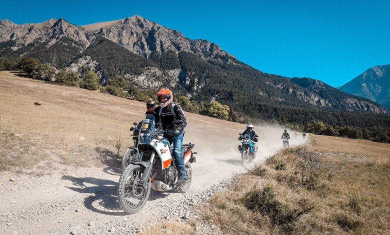 Photo of Ambiance extrême avec Yamaha à l'Alpes Aventure Moto Festival
