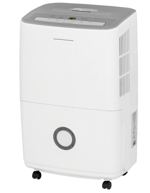 Frigidaire FFAD3033R1 Energy Star Dehumidifier with Effortless Humidity Control, 30 pint