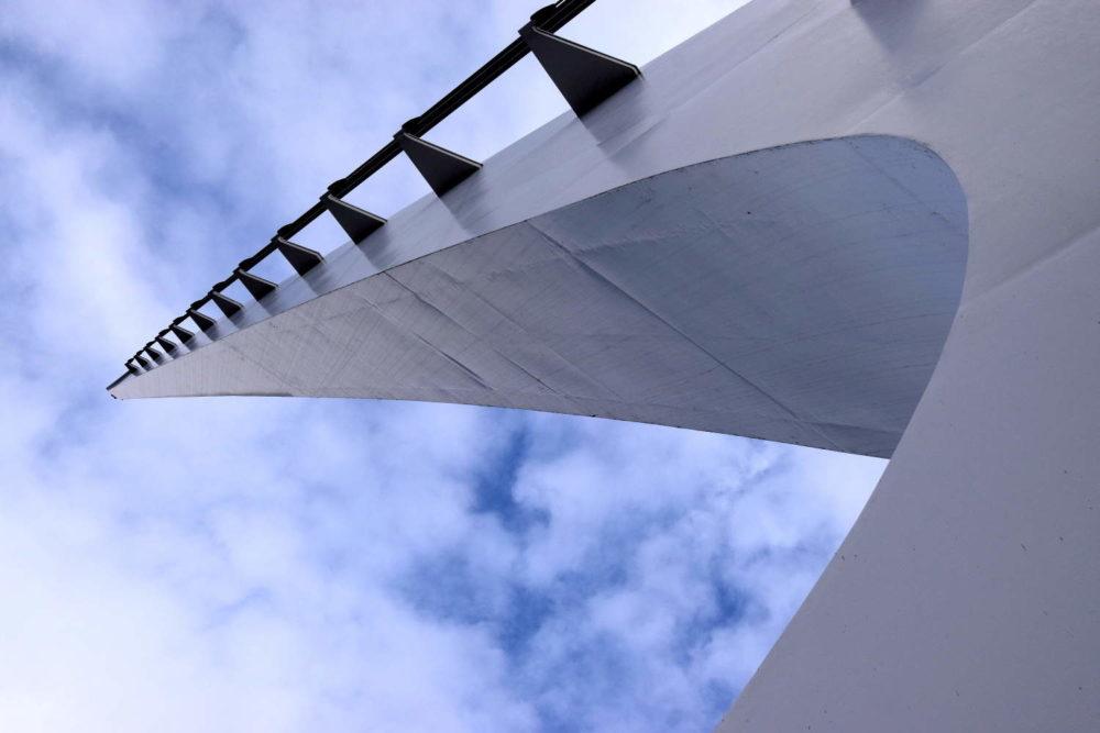 Sundial Bridge up Close
