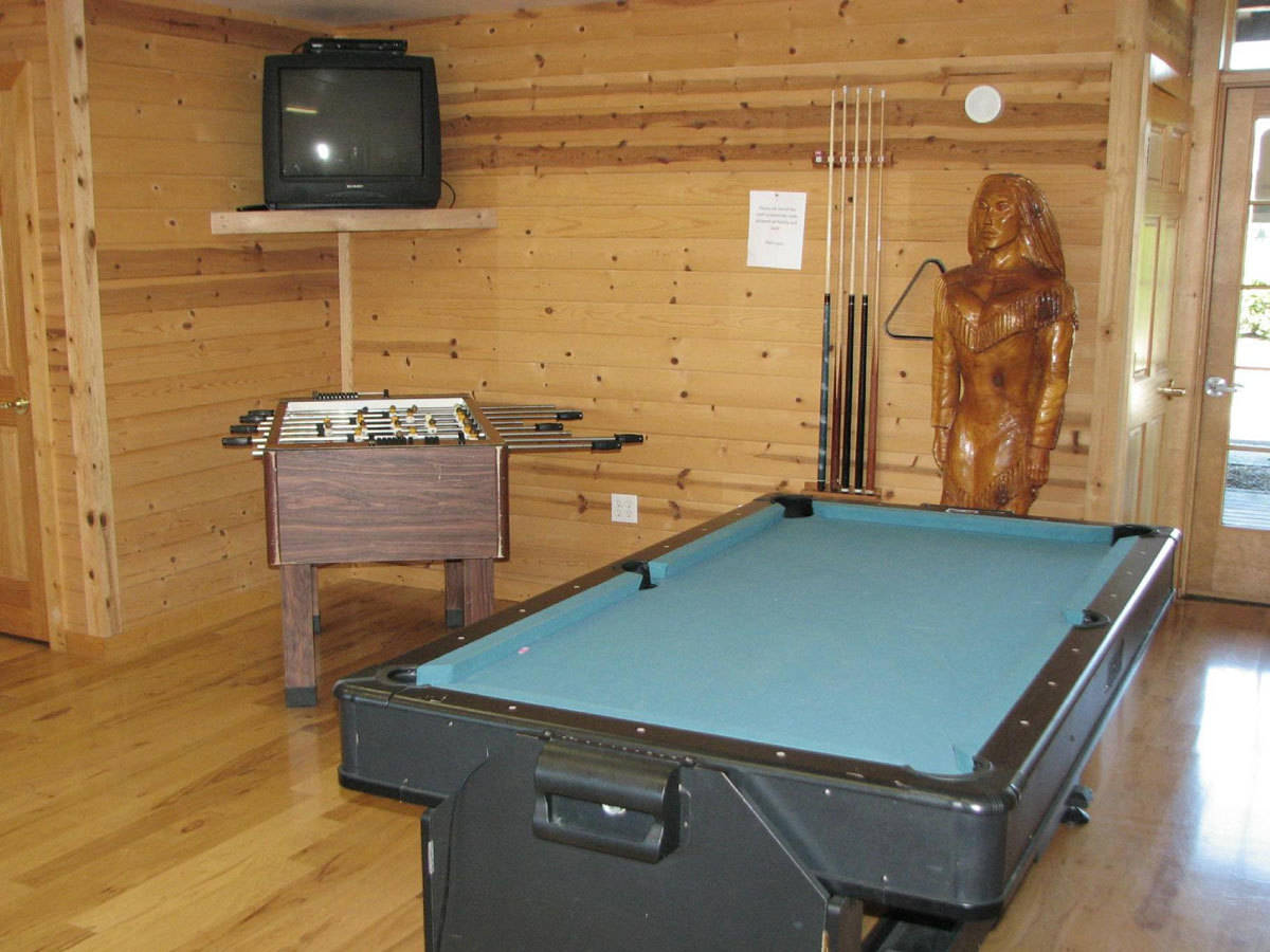 Silver Spur RV Park Game Room