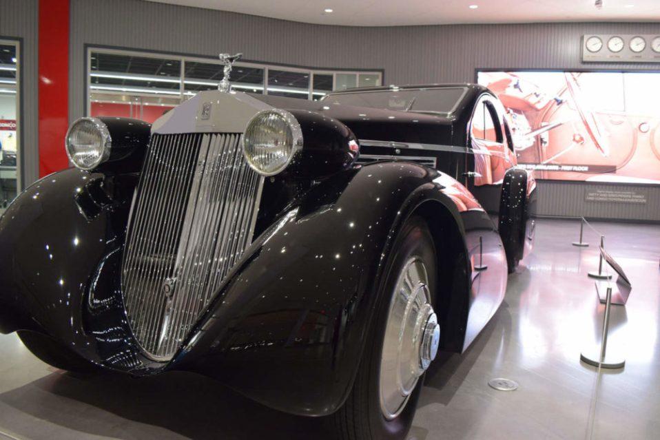 Fancy Rolls Royce
