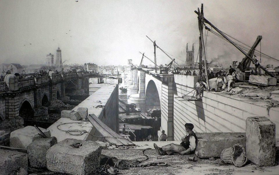 1830s London Bridge