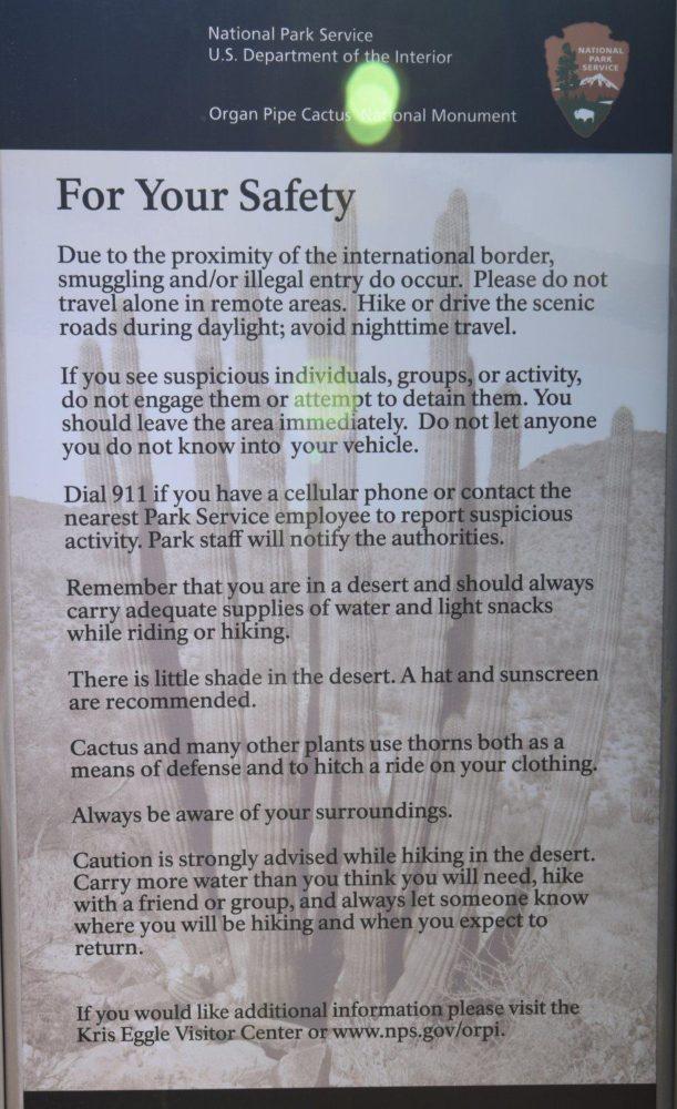 Boarder Warnings