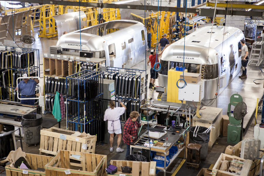 In addition to high quality, Airstreams are manufactured in the US.