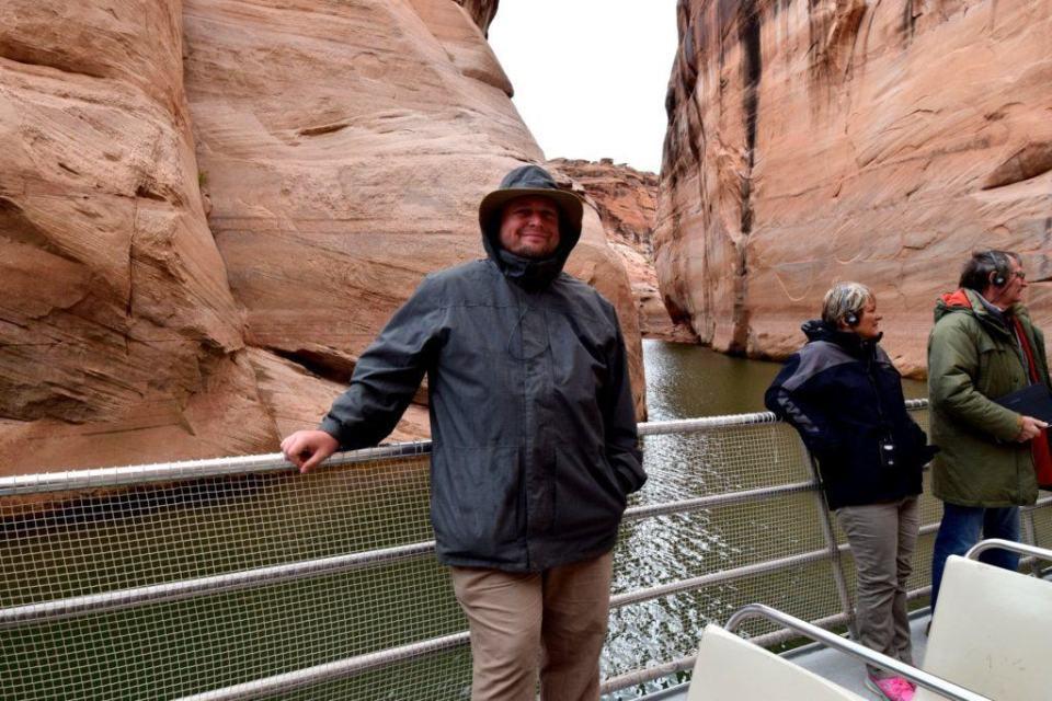 Sig in Antelope Canyon