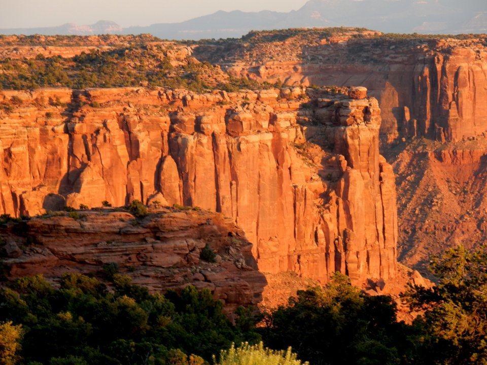 Orange Cliffs! Love that color!