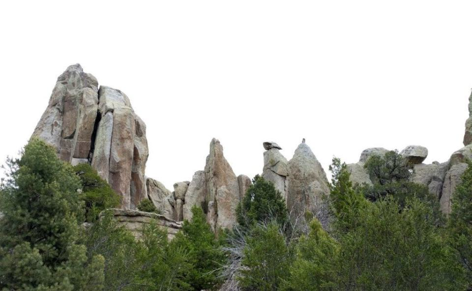 Pinnacles Over Juniper & Pinyon Pine Forest