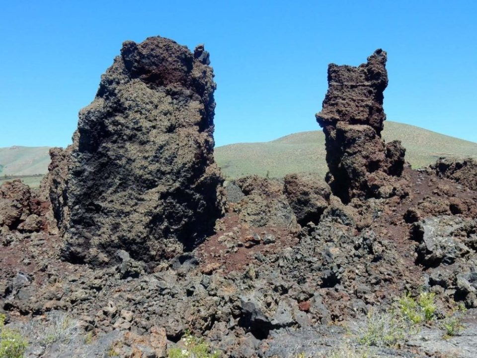 Lava Towers
