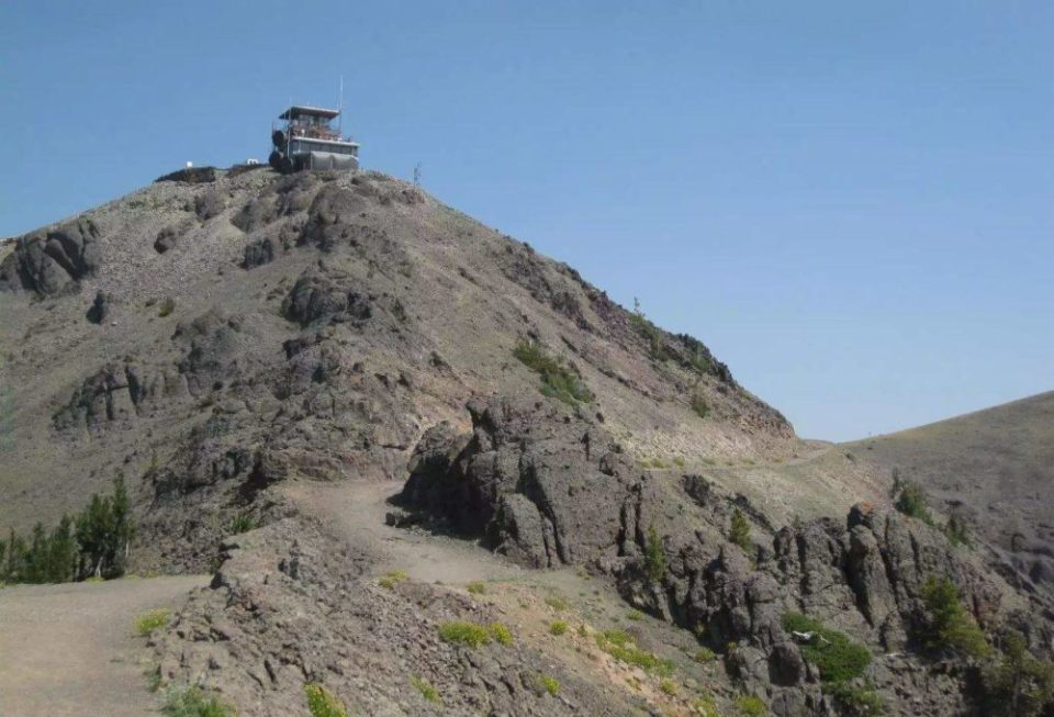 Mount Washburn Fire Lookout Tower