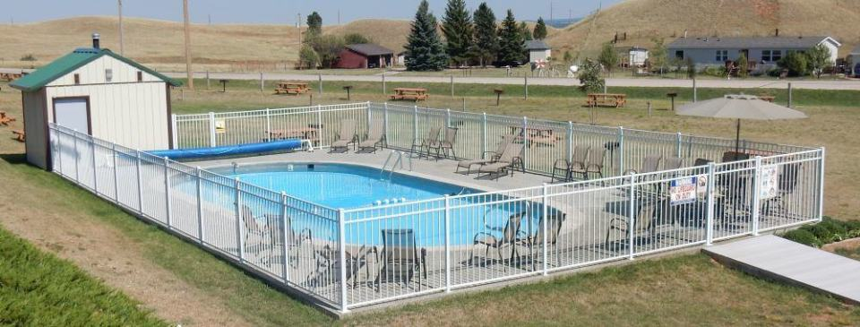 I think our Airstream would just about fit inside this pool.