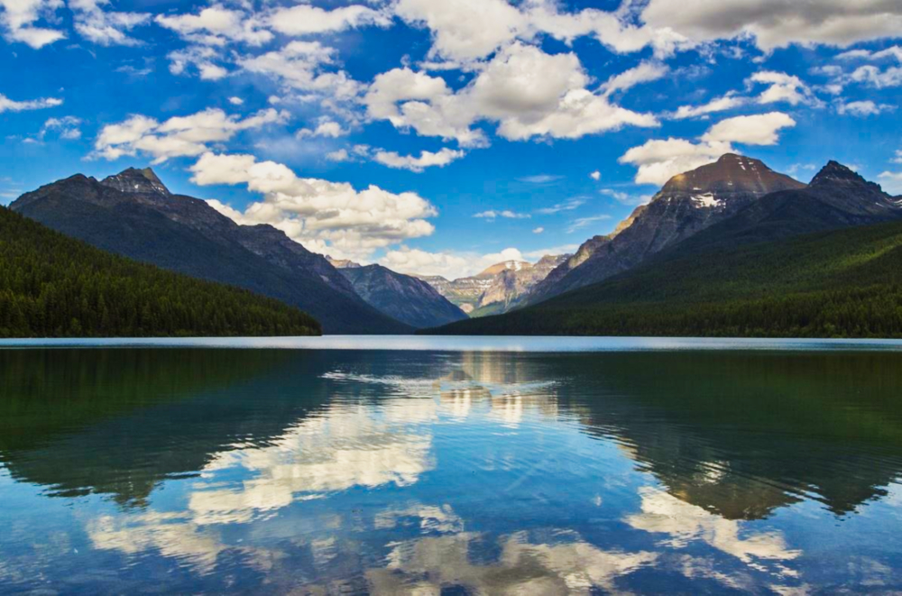 Glacier National Park Lake Mcdonald Valley The