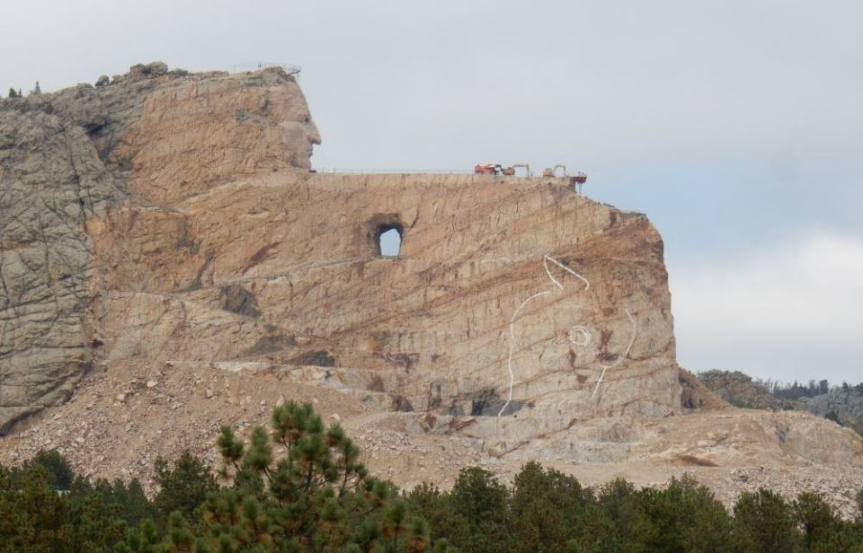 Crazy Horse Memorial - within the Black Hills