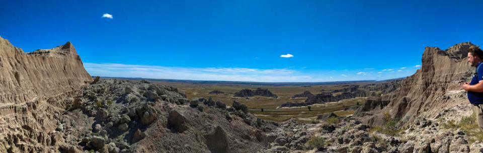Saddle Pass Panorama