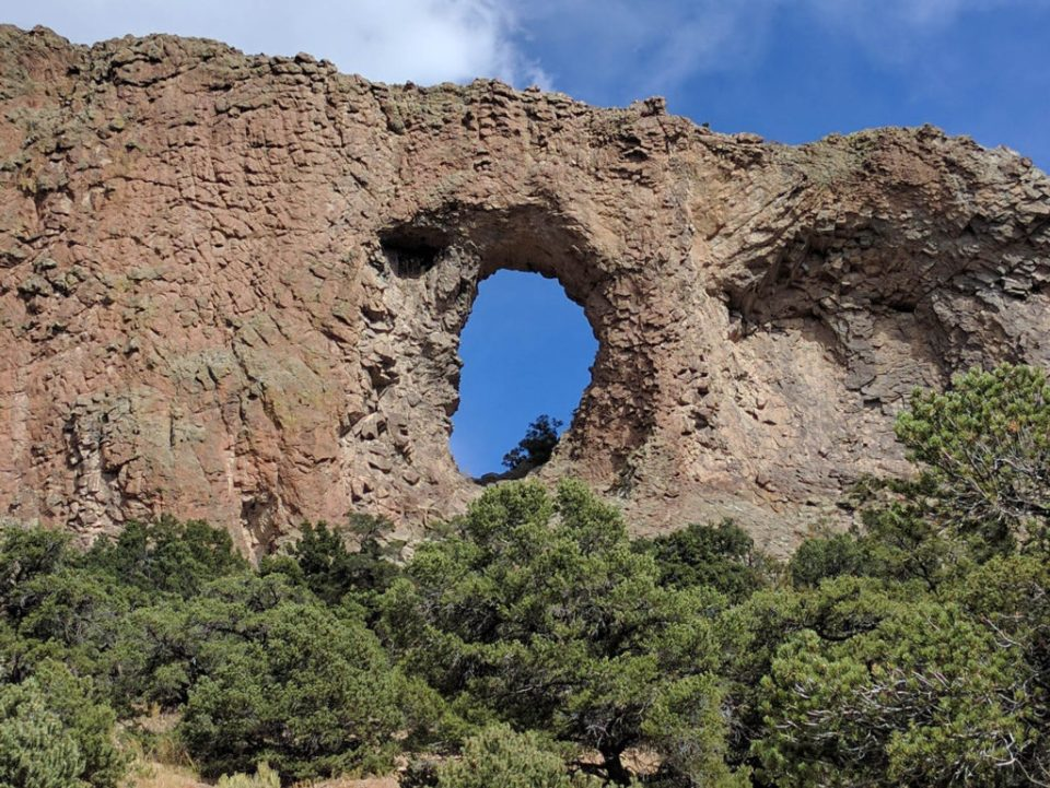 Natural Arch From Below